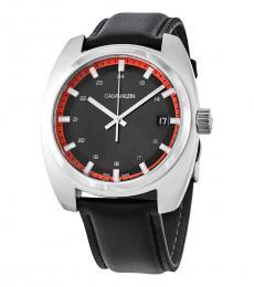 Calvin Klein Black Achieve Logo Watch