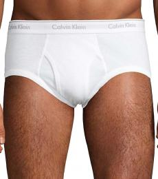 Calvin Klein White 4-Pack Cotton Briefs