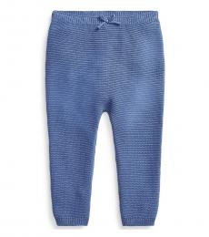 Ralph Lauren Baby Girls Old Royal Sweater Pull-On Pants