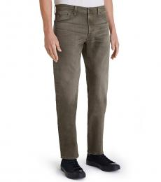AG Adriano Goldschmied Grey Everett Slim Straight Leg Jeans