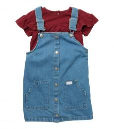 7 For All Mankind 2 Piece Top/Jumper Set (Little Girls)