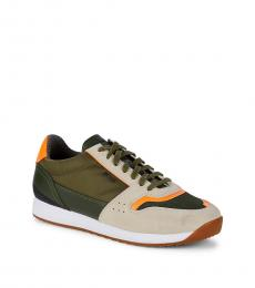 Hugo Boss Green Sonic Runn Sneakers