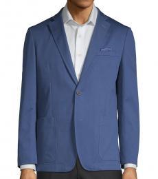 Ben Sherman Blue Slim Fit Classic Sportcoat