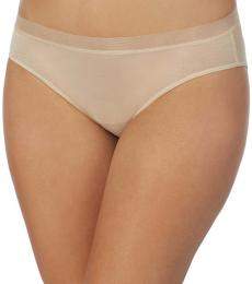 Natural Glossy Bikini Underwear