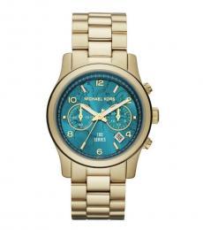 Michael Kors Golden Hunger Stop Chronograph Watch