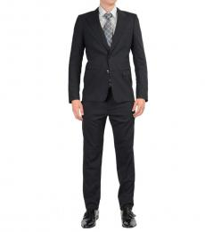 Dolce & Gabbana Black Two Buttons Suit