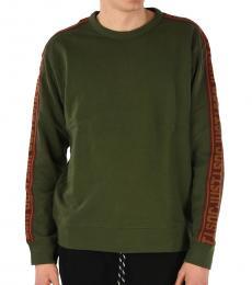Military Green Crewneck Sweatshirt