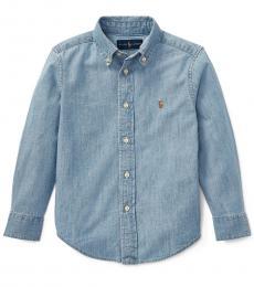 Ralph Lauren Little Boys Blue Chambray Shirt