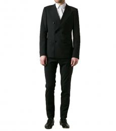 Dolce & Gabbana Black Double Breasted Suit