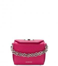 Alexander McQueen Pink Box Mini Crossbody