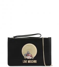 Love Moschino Black Garphic Small Crossbody