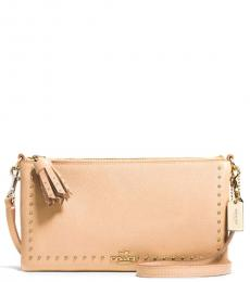 Coach Natural Herald Small Shoulder Bag