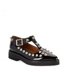 Black Mary Jane Studded Dress Shoes