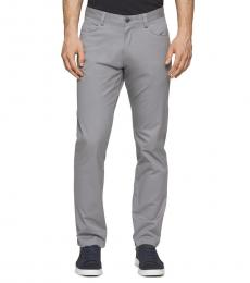 Calvin Klein Convoy Slim-Fit Sateen Pants
