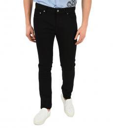 Black Patch Pocket Slim Fit Jeans