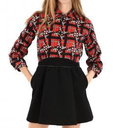 Dsquared2 Black Long Sleeve Mini Dress