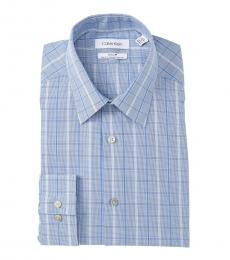 Petrol Slim Fit Stretch Dress Shirt