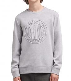 Heather Grey Token Logo Sweater