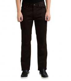 Versace Collection Multicolor Striped Stretch Jeans