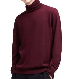Wine Tasting Merino Turtleneck Sweater