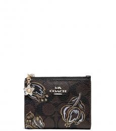 Coach Chestnut Tulip Snap Wallet
