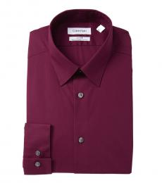 Hearth Slim Fit Solid Dress Shirt