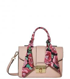 Betsey Johnson Blush Top-Handle Mini Satchel