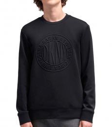 Black Token Logo Scuba Sweater