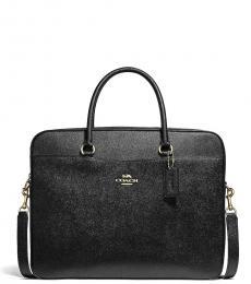 Coach Black Laptop Large Briefcase Bag