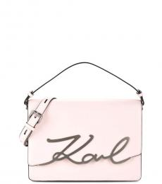 Pink Logo Medium Crossbody