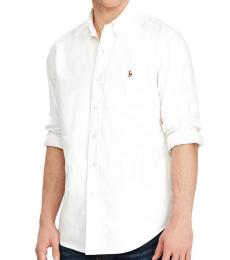 White Oxford Long Sleeves Shirt