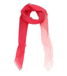 Red Pull Through Scarf