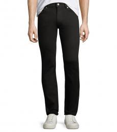 Black Slimmy Slim-Fit Jeans