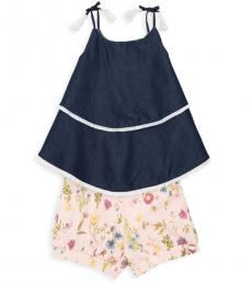 BCBGirls 2 Piece Top/Shorts Set (Little Girls)