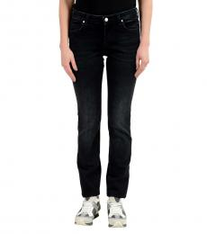 Dark Blue Embellished Slim Fit Jeans