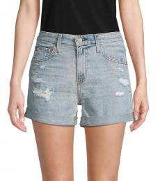 AG Adriano Goldschmied 21 Years Roll-Up Denim Shorts