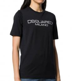 Dsquared2 Black Signature Logo Tee