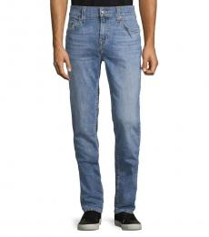 Lazy Blue Relaxed Skinny-Fit Jeans