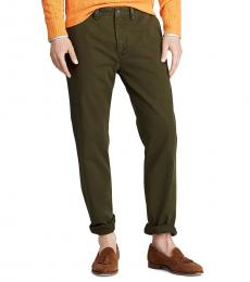 Ralph Lauren Company Olive Classic Fit Chinos