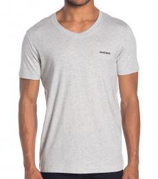 Light Grey Jake V-Neck T-Shirt