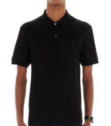 Black Skull Logo Polo