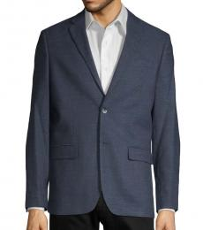 Ben Sherman Navy Blue Slim Fit Neat Sport Coat