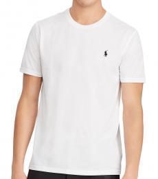 Ralph Lauren White Performance Jersey T-Shirt
