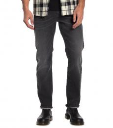 Diesel Black Straight Leg Jeans