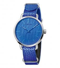 Calvin Klein Blue Even Watch