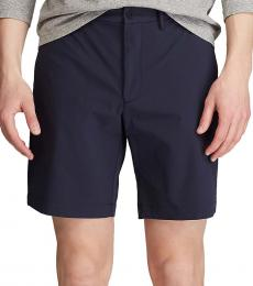 Ralph Lauren Navy Blue Traveler Straight Fit Short