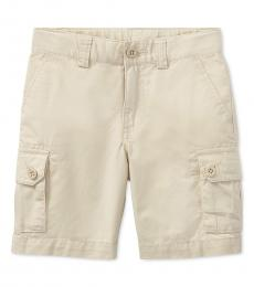 Ralph Lauren Little Boys Basic Sand Chino Shorts