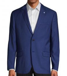 Ben Sherman Royal Blue Checkered Sportcoat