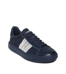 Bikkembergs Blue Cesan Logo Sneakers