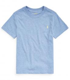 Ralph Lauren Little Boys Soft Royal Crewneck T-Shirt